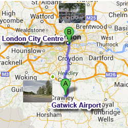 Gatwick Airport To London City Centre